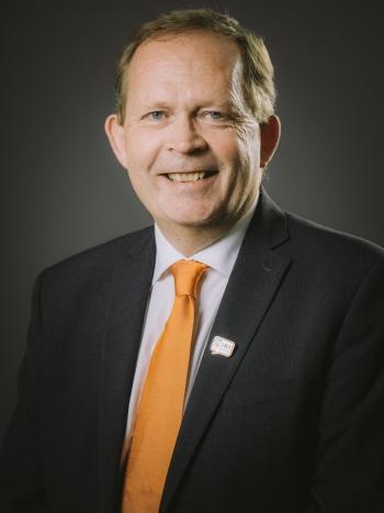 Dr Cary Adams, CEO of UICC